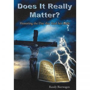 Does It Really Matter? Front