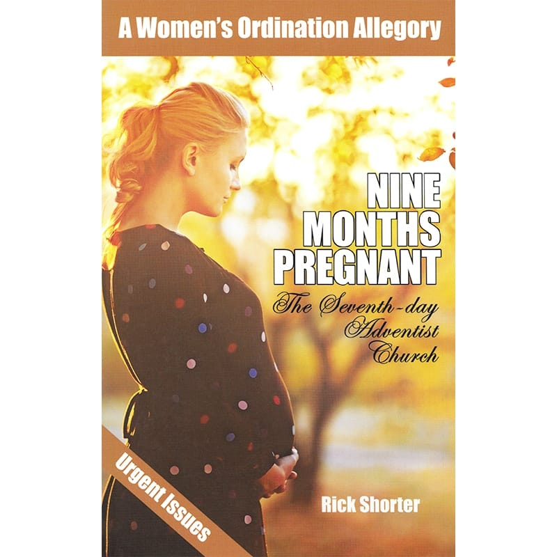 Nine Months Pregnant Front