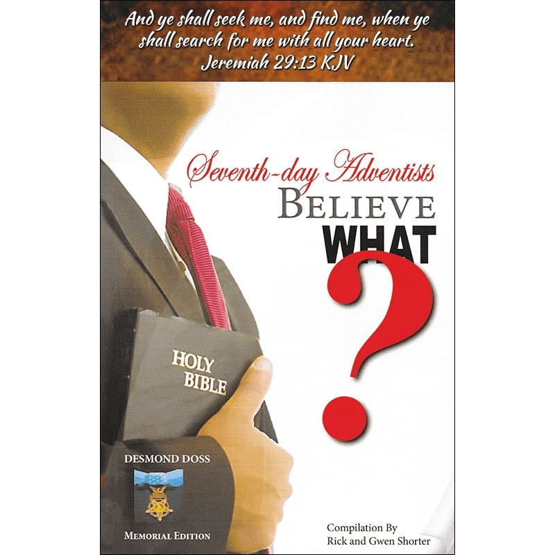 Seventh-day Adventists Believe What Front