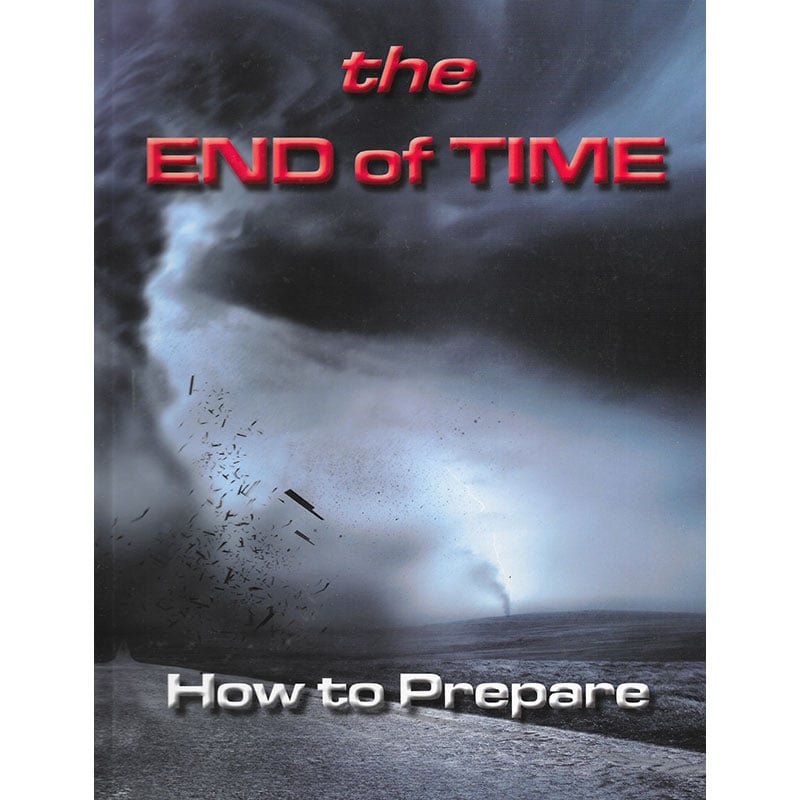 The End of Time Hardcover Front