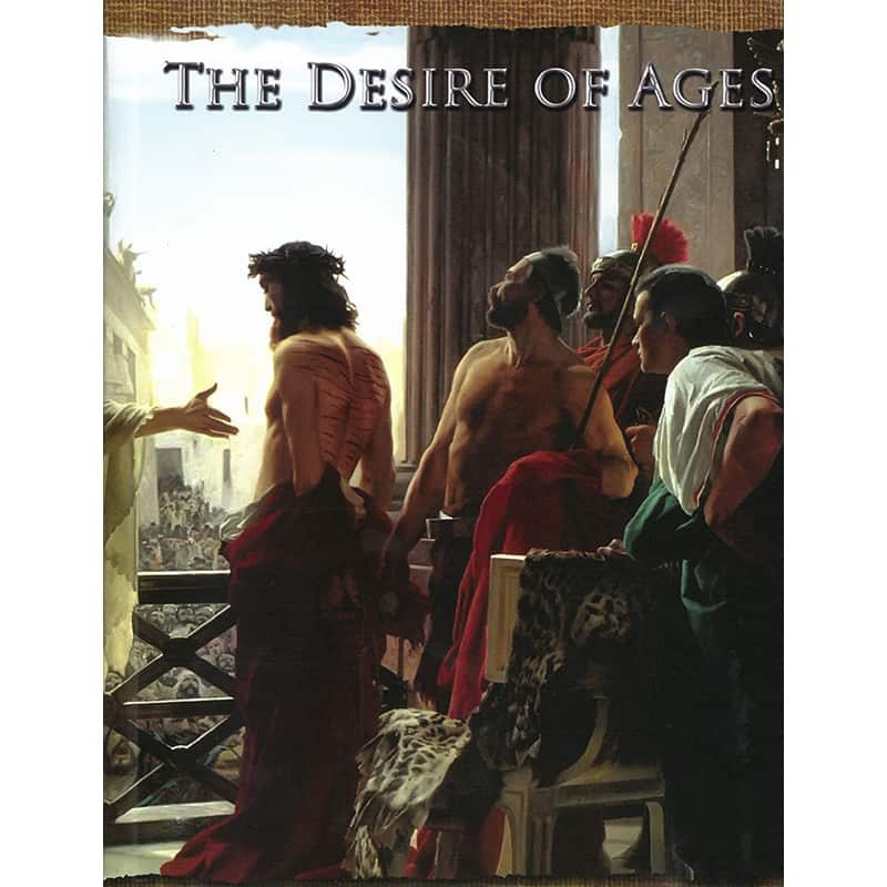 The Illustrated Desire of Ages Front HB