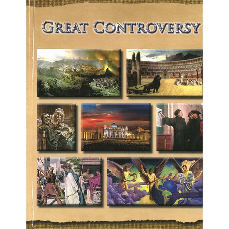 The Illustrated Great Controversy Front HB