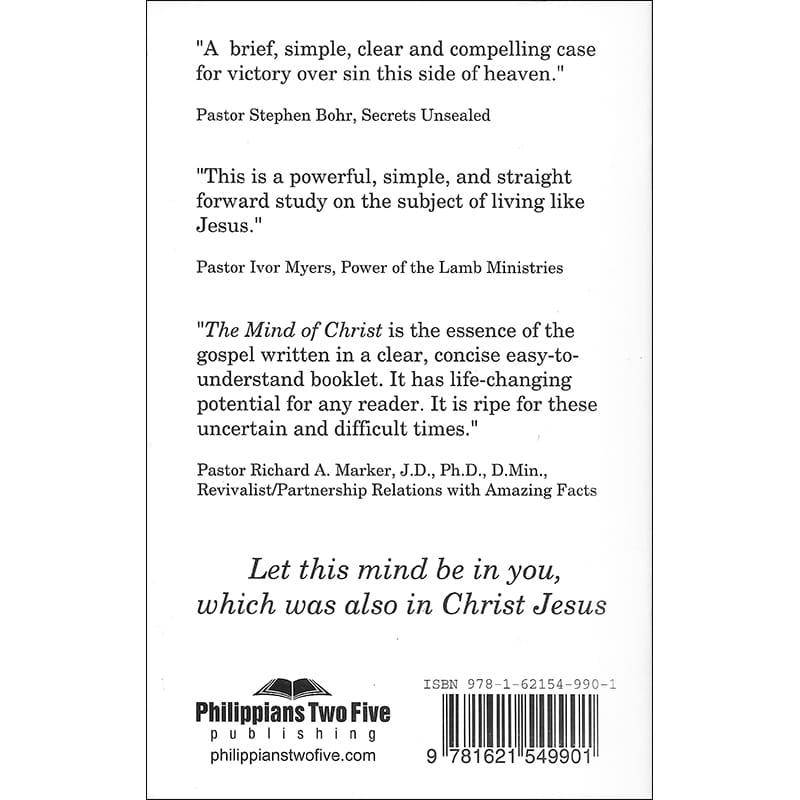 The Mind of Christ Back
