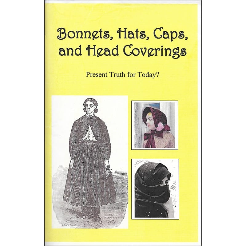 Bonnets, Hats, Caps, and Head Coverings Front