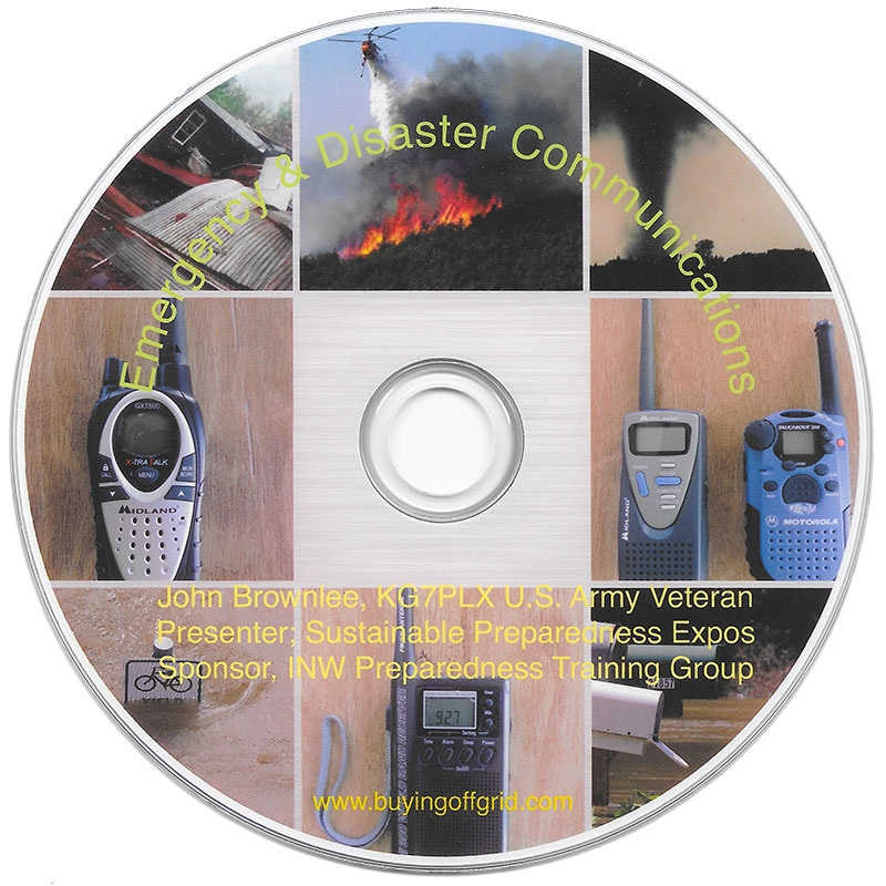 Emergency and Disaster Communications DVD