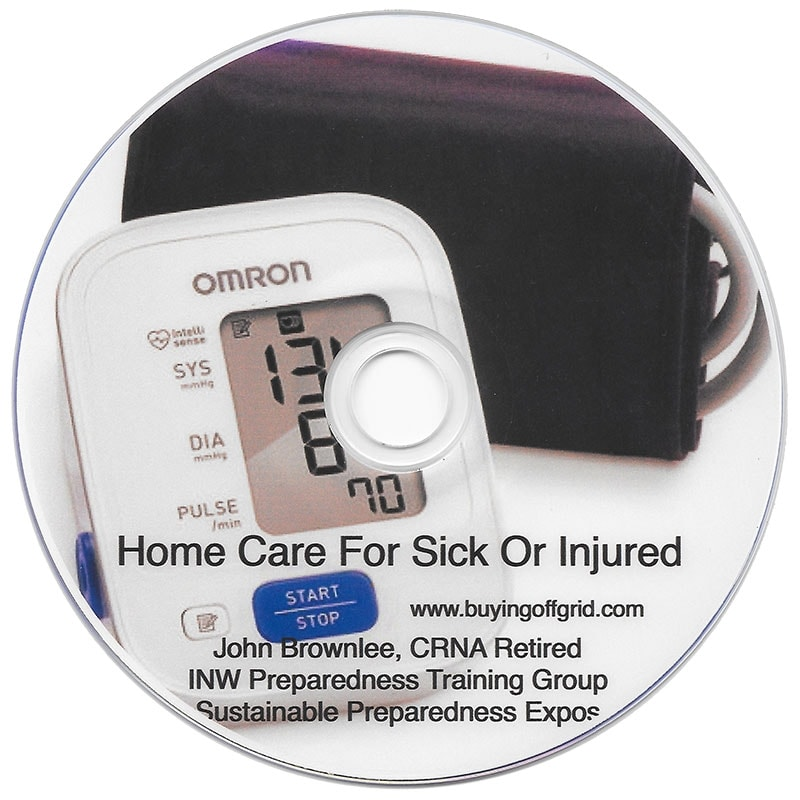 Home Care for Sick or Injured DVD