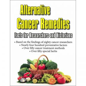 Alternative Cancer Remedies Front