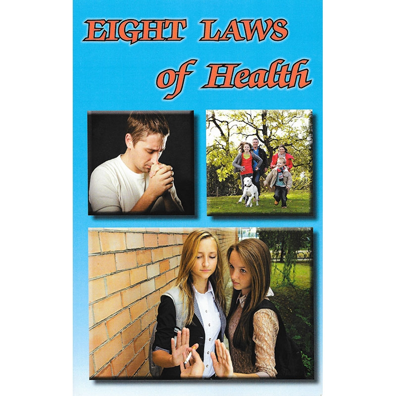 Eight Laws of Health Front