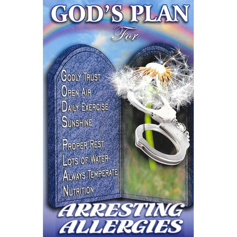 God's Plan for Arresting Allergies Front