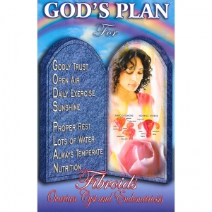 God's Plan for Fibroids Ovarian Cyst and Endometriosis Front