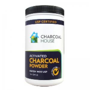 Detox 1600 Activated Charcoal Powder 1 QT