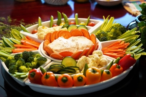 Raw Vegetable Plate