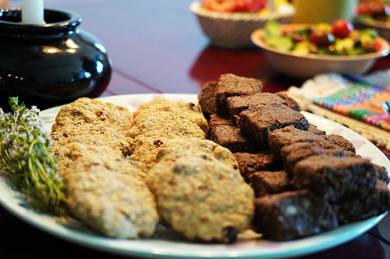 Sister Shorter's Fabulous Flax Cookies