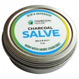 Charcoal Salve Tin