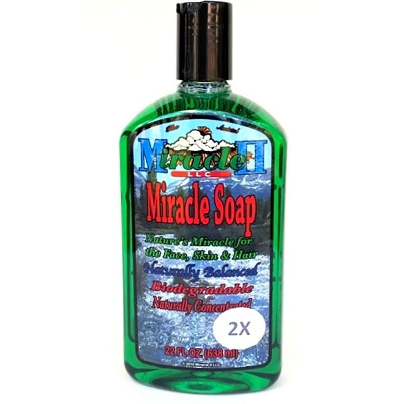 2x Miracle II Soap