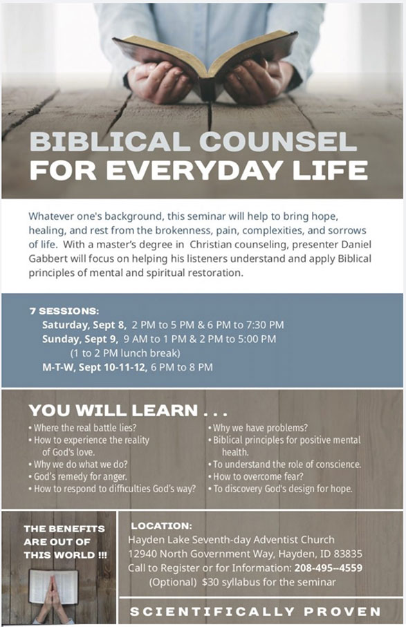 Biblical Counsel for Everyday Life