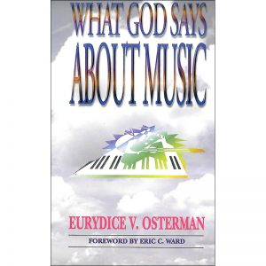 What God Says About Music Front