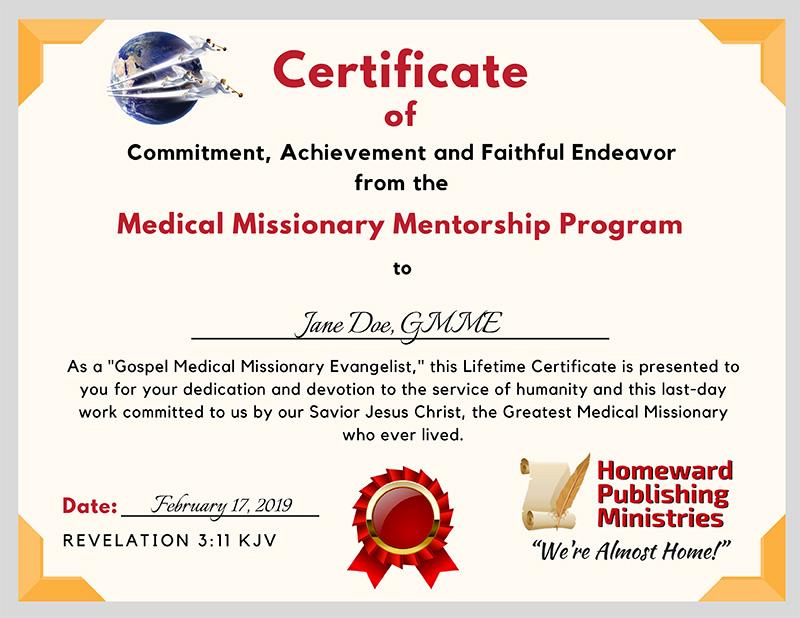 MMMP Certificate Sample